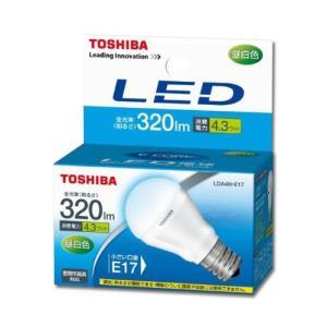 東芝 LED電球 ミニクリプトン形 4.3W E17 昼白色 LDA4N-E17|collectas