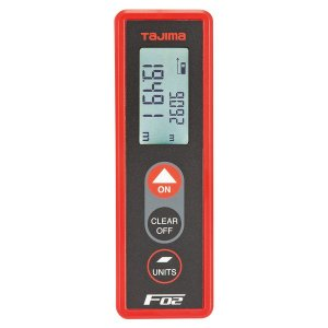TAJIMA・タジマ レーザー距離計 タジマF02 赤 LKT-F02R|collectas