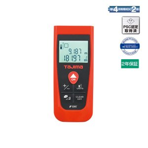 TAJIMA・タジマ レーザー距離計 タジマF05 LKT-F05R|collectas