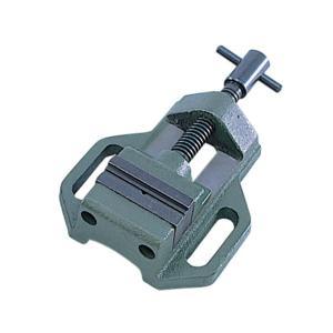 イチネンミツトモ 鋳鉄製マシンバイス 50mm V溝付 130 14130|collectas
