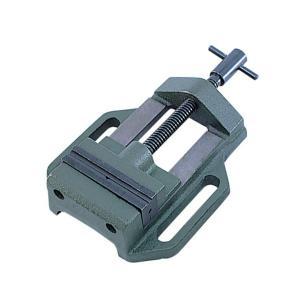 イチネンミツトモ 鋳鉄製マシンバイス 63mm V溝付 131 14131|collectas