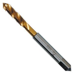 イチネンミツトモ スパイラルタップ M4×0.7mm ハイス/チタンコーティング 止まり穴用 22161|collectas