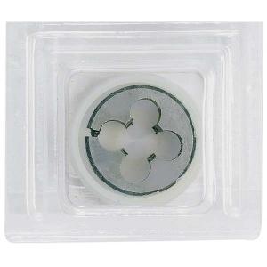 イチネンミツトモ 調整ネジ付ダイス M10×1.5mm ダイス径φ25mm 合金工具鋼 22225|collectas