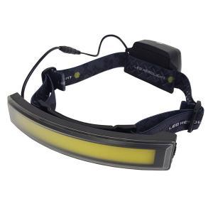 イチネンミツトモ COB スーパーワイドアングルヘッドライト 400LM 充電式 BHL-C04RB 87675|collectas