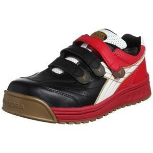 DIADORA/ディアドラ 安全作業靴 ロビン 黒/白/赤 26.5cm RB-213 265|collectas