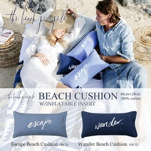 the beach people ザビーチピ−プル エアークッション ビーチクッション|collectioncasestore
