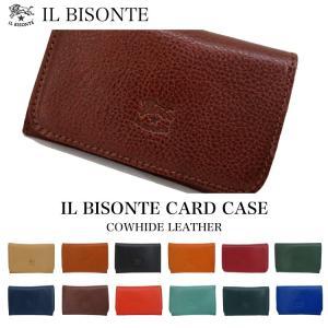 イルビゾンテ IL BISONTE カードケース 名刺入れ C0470|collectioncasestore