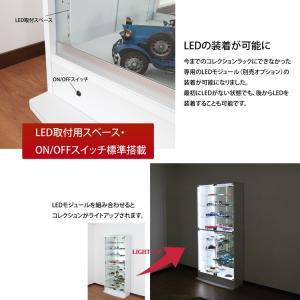 耐震 コレクションラック ハイタイプ 奥行29cm|collectioncasestore|02