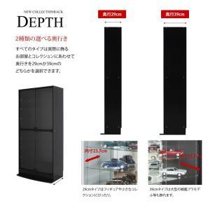 耐震 コレクションラック ハイタイプ 奥行29cm|collectioncasestore|05