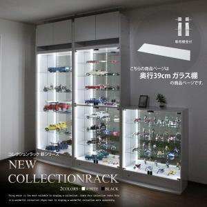 コレクションケース 奥行39cm用 ガラス棚板 単品 ガラス棚板のみの写真