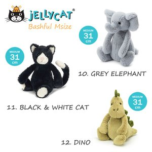 ジェリーキャット ぬいぐるみ jellycat Mサイズ collectioncasestore 06