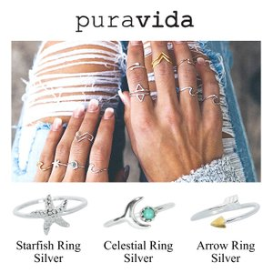 Pura Vida プラ ヴィダ リング 指輪 Silver Gold|collectioncasestore