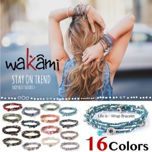 Wakami ワカミ ブレスレット Life Is…Wrap Bracelet|collectioncasestore