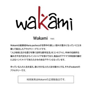 Wakami ワカミ ブレスレット Life Is…Wrap Bracelet|collectioncasestore|02