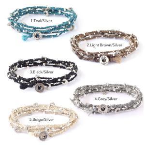 Wakami ワカミ ブレスレット Life Is…Wrap Bracelet|collectioncasestore|03