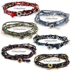 Wakami ワカミ ブレスレット Life Is…Wrap Bracelet|collectioncasestore|05