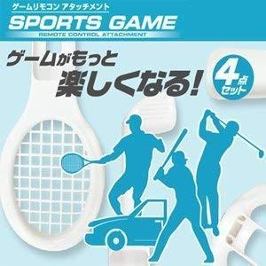 【スポーツゲーム SPORTSGAME】ゲームリモコンアタッチメント4点セット。wii用(管理番号:2935) collectionmall
