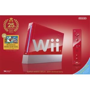 Wii 本体 (スーパーマリオ25周年仕様) Wiiリモコンプラス同梱 (RVL-S-RAAV) (管理:463007)|collectionmall