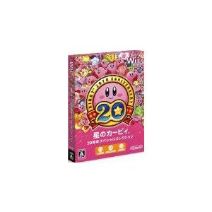 (Wii) 星のカービィ 20周年スペシャルコレクション  ※外箱・ブックレットなし (管理:380573)|collectionmall
