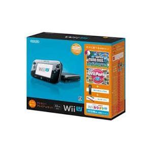 Wii U 本体 すぐに遊べるファミリープレミアムセット(ク...