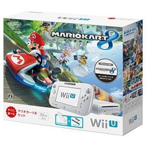 Wii U 本体 マリオカート8 セット シロ(管理:463030)※付属品欠品ありのため特価|collectionmall