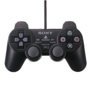 PS2  プレステ2 アナログコントローラー デュアルショック2  ブラック 黒(DUALSHOCK 2) (管理:1145)|collectionmall