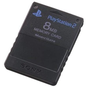 (PS2)PlayStation 2専用メモリーカード(8MB)ブラック(管理:1146)|collectionmall