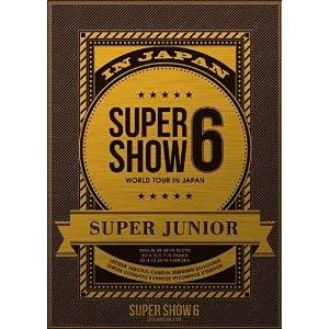 SUPER JUNIOR WORLD TOUR SUPER SHOW6 in JAPAN (DVD3枚組) (初回生産限定) /  (管理:208874)|collectionmall