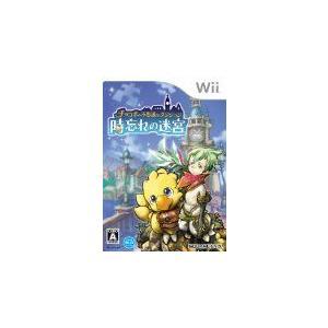 (Wii) チョコボの不思議なダンジョン 時忘れの迷宮  (管理:380108)