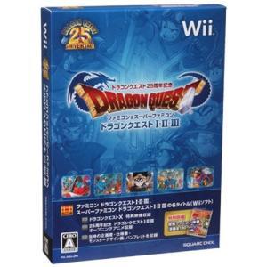 (Wii) ドラゴンクエスト25周年記念 ファミコン&スーパーファミコン ドラゴンクエスト1・2・3(外箱・ブックレットなし)(管理:380540)|collectionmall