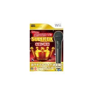 (Wii) カラオケJOYSOUND Wii SUPER DX お買い得版  (管理:380560)