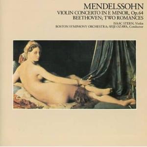 (CD)小沢征爾指揮ボストン交響楽団/メンデルスゾーン:ヴァイオリン協奏曲|collectionmall