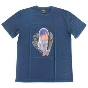 (衣類)レム Tシャツ マリンブルー メンズLサイズ 「Re:ゼロから始める異世界生活」 collectionmall