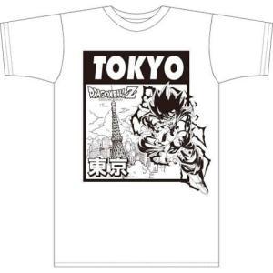 孫悟空(TOKYO) 日本限定ボトルTシャツ ホワイト Lサイズ「ドラゴンボールZ」(管理J1080) collectionmall