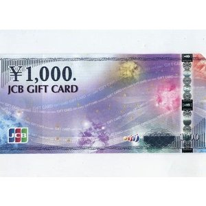 「JCB GIFT CARD 1000円券」|collectionmall