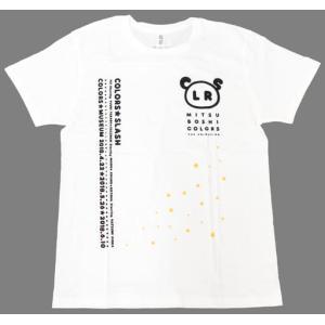 (Tシャツ)高田憂希&高野麻里佳&日岡なつみ(カラーズ☆スラッシュ) Tシャツ ホワイト Lサイズ collectionmall