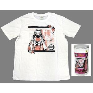 (Tシャツ)竈門禰豆子 ボトル入りTシャツ2 ホワイト フリーサイズ 「鬼滅の刃」(管理J4419) collectionmall