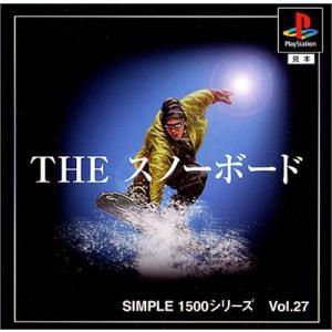 (訳あり新品) (PS) SIMPLE1500シリーズ Vol.27 THE スノーボード (管理:N18782)|collectionmall