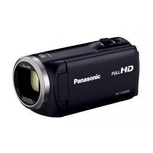 Panasonic HDビデオカメラ V360M 16GB 高倍率90倍ズーム ブラック HC-V360M-Kの商品画像