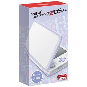 Newニンテンドー2DS LL ホワイト×ラベンダー (管理:N465743)|collectionmall