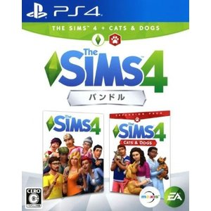 (PS4) The Sims 4 Cats & Dogsバンドル (管理:N406110)|collectionmall