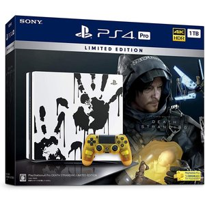 (PS4)PlayStation 4 Pro DEATH STRANDING LIMITED EDI...