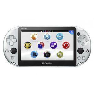 PlayStation Vita Wi-Fiモデル シルバー (PCH-2000ZA25)(管理:N470058)