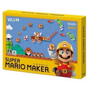(Wii U)  スーパーマリオメーカー ※外箱・特典無し(管理:381103)