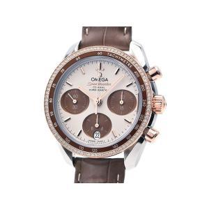 オメガ メンズ スピードマスター 324.28.38.50.02.002 K18PG クロノグラフ 仕上済 ダイヤベゼル 自動巻き 腕時計 中古 送料無料 collectionshiba