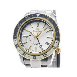 [3年保証] グランドセイコー メンズ SBGE262 9R66-0BC0 特選会限定モデル GMT シルバー文字盤 スプリングドライブ 腕時計 中古 送料無料|collectionshiba