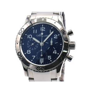 [3年保証] ブレゲ メンズ トランスアトランティック タイプXX 3820 K18WG 新品仕上済 クロノグラフ 自動巻き 腕時計 中古 送料無料 collectionshiba