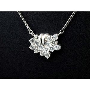 合計1.20ct天然ダイヤネックレス Pt850 プラチナネックレス ダイヤモンドネックレス 中古 送料無料|collectionshiba