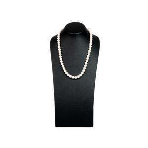 ミキモト 7mm パールネックレス SV 40cm シルバー 真珠 ネックレス 中古 送料無料|collectionshiba