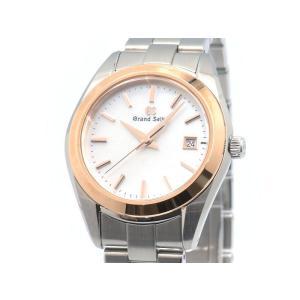 グランドセイコー レディース STGF268 4J52-0AB0 K18PG 18Kピンクゴールド ホワイトシェル文字盤 クオーツ 腕時計 中古 送料無料|collectionshiba